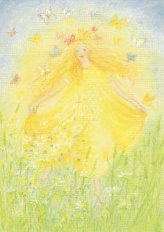 Lente - Natura is weer terug ansichtkaart Chalkboard Drawings, Chalk Drawings, Pretty Art, Cute Art, Spring Fair, Garden Studio, Spring Photos, Spring Nature, Summer Solstice