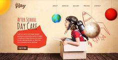 Kindergarten WordPress Theme Kids Play A colorful & joyful WP Theme. Responsive Retina Ready, 2016, mobile desin, after school, parties,…