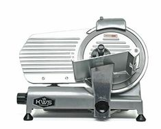 KWS Commercial Electric Meat Slicer 10 Frozen Meat Deli Slicer Coffee Shop/restaurant and Home Use Low Noises Stainless Steel BladeSilver *** For more information, visit image link. (This is an affiliate link) Meat And Cheese, Cheese Food, Food Cutter, Meat Slicers, Deli Food, Bbq Meat, Specialty Appliances, Small Appliances, Frozen Meals