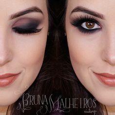 Maquiagem Esfumada – Smokey Eyes por Bruna Malheiros