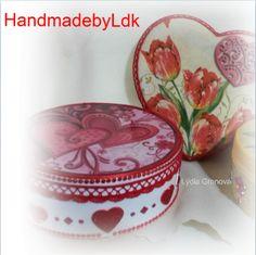 Šperkovnice robené technikou decoupage z dielničky Handmadeby Ldk