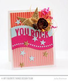 You Rock Star Card b