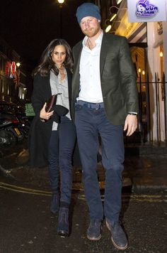 PHOTOS: Prince Harry and Meghan Markle Walk Hand-in-Hand on Date Night