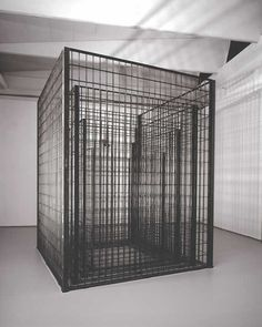 Philip Rantzer, Four cages, 2002