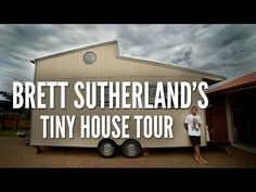 Amazing Off-Grid Modern Tiny House Tour. One of the most practical Tiny Houses I've seen and completely off grid.