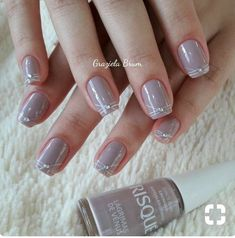 Nude nails designs are classy, which makes them appropriate for any occasion. Elegant Nail Designs, Elegant Nails, Nail Art Designs, Nude Nails, Manicure And Pedicure, Acrylic Nails, Nail Designer, Nails Only, Ballerina Nails