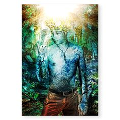 Fabulous portrait: watercolour with digital rendering / Portrait fantastique : Aquarelle avec rendu numérique | DeSerres