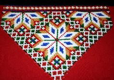 Bringeduk: BRINGEDUK OG BELTER TIL BUNAD: VELG MELLOM 20 FORSKJELLIGE MØNSTER Cross Stitch Patterns, Stitching Patterns, Beaded Embroidery, Cross Stitching, Blanket, Beads, Holiday Decor, Crochet, Crafts
