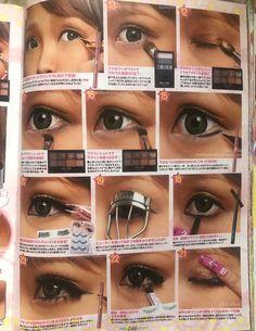 Japanese Makeup, Japanese Fashion, Gyaru Makeup, Hair Makeup, Cool Kidz, Aesthetic Korea, Gyaru Fashion, Snooki, Aesthetic Makeup
