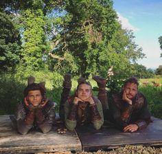 Jordan Patrick Smith, Marco Ilsø & Alex Høgh Andersen, are currently the three living children of Ragnar and Aslaug: Ubbe, Hvitserk & Ivar Vikings Show, Vikings Season 4, Vikings Tv Series, Ivar Vikings, Norse Vikings, Ragnar Lothbrok, Viking Warrior, Wallpaper Vikings, Vikings Tumblr