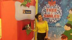 Look who turned Santa! #NehaKakkar at Tree of Smiles #InorbitMakesMeSmile