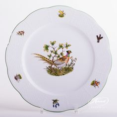 1 pc – Dinner Plate - diam cm - Pheasant This patt Dinnerware Ideas, Hunter S, Dinner Sets, Forest Animals, Serving Plates, Fine China, Dinner Plates, Buffet, Pride