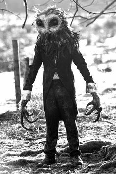 The Owlman, sometimes referred to as the Cornish Owlman or the Owlman of Mawnan, is an owl-like cryptid that was supposedly sighted around mid-1976 in the village of Mawnan, Cornwall, England, United Kingdom. The Owlman is sometimes compared to America's Mothman in cryptozoological literature.  The Owlman is said to stand 4 to 7 ft. tall with a 10 ft. wingspan. The creature is also said to have glowing red eyes, gray feathers, black talons and pointed ears. The Death Raptor is quite…