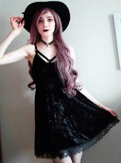 Nu-goth wicca look by amaris_noir