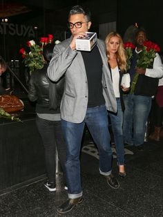 Jaime Camil Photos: Celebrity Sightings at Katsuya Restaurant