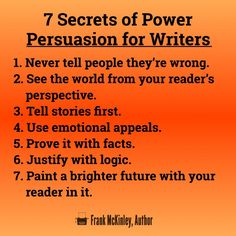 The 7 Secrets of Power Persuasion for Writers – The Wakeup Call – Medium Bright Future, The Secret, Perspective, How Are You Feeling, Facts, Science, Feelings, Reading, Writers