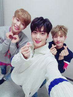 MJ, Eunwoo & Jin Jin