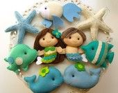 Mermaids - maybe for the girls party ...