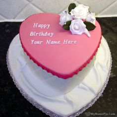 Best #1 Website for name birthday cakes. Write your name on Birthday Cake For Girlss picture in seconds. Make your birthday awesome with new happy birthday greetings cakes. Get unique happy birthday cake with name.