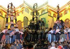 #CastellsCulturcatTotcat  Colla Castellers Xiquets de Tarragona