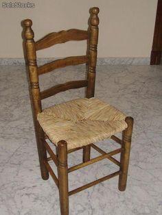 Set 2 sillas negras vintage harlem material madera de for Sillas negras de madera