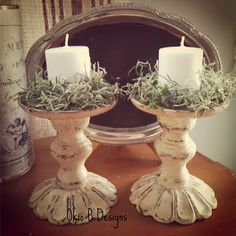 Decor Steals inspired candlesticks.  Okio B Designs