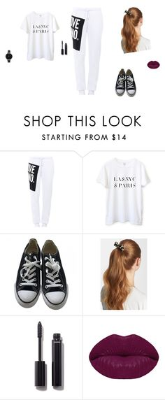"""Untitled #39"" by sara-tadic-1 ❤ liked on Polyvore featuring Love Moschino, Converse, L. Erickson, Chanel, Winky Lux and Olivia Burton"