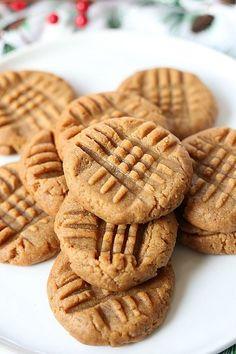 Healthy Peanut Butter Cookies Vegan