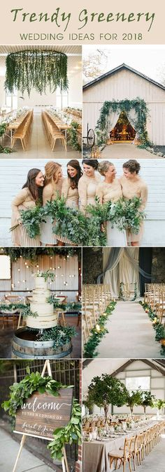 Trendy Greenery Wedding Ideas for 2018 Brides – Elegantweddinginvites.com Blog