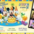 Mickey Mouse Clubhouse Birthday Invitations Free Templates