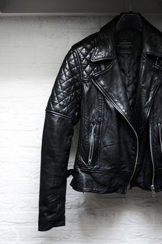 My Allsaints leather jacket