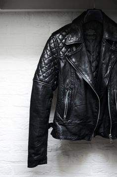 My Allsaints leather jacket