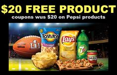 Pepsi Canada Promotion ~ Get $20 in FREE Product Coupons by Mail from Pepsico