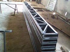 Estrutura Metálica - Treliça Nova  30cm U2  - (6 Metros) =. R$ 372 RAMACOSTAMATERIAIS