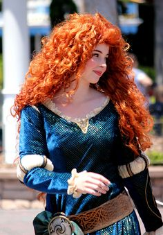 An awesome cosplay of Merida (Disney's Brave) this particular girl even LOOKS the part in her face shape and colouring. Honestly, she could do the live action version.