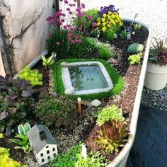 fairy mini garden for maia