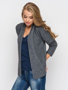 Love the pattern on this cardigan!