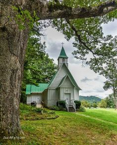 Episcopal Church in Valle Crucis, NC taken by David Hill
