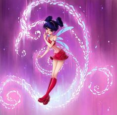Musa Magic Winx by Brillantezza on DeviantArt Las Winx, Bloom Winx Club, Little Poni, 2d Art, Magical Girl, Girl Power, Cool Pictures, Witch, Character Design