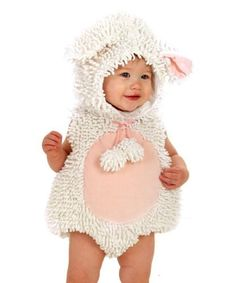 Baby's First Halloween: 24 Cute Costume Ideas Little Lamb This sweet Little Lamb ($67) may steal the show on the big night.