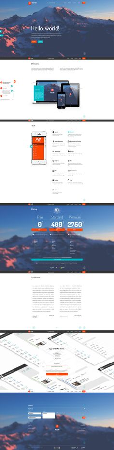 Meeting Application by Piotr Kozak, via Behance / color scheme Flat Web Design, Ux Design, Branding Design, Gui Interface, User Interface Design, Website Layout, Web Layout, Corporate Website Design, E Online