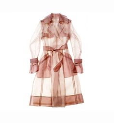 Tracy Reese cotton and nylon dress. Look Fashion, Spring Fashion, Fashion Outfits, Womens Fashion, Fashion Design, Petite Fashion, Curvy Fashion, Coatdress, Trench Coats