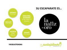 Utilizar un evento como La Nariz de Oro, para dar a conocer nuestro producto/marca a un precio muy económico.