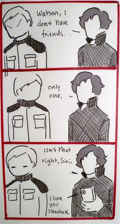 I think the first two panels of this might just be the least dramatic post-Reichenbach ever. Story roughly based on this post I saw on Tumblr: which also inspired this fanfic: all my BBC Sherlock c...