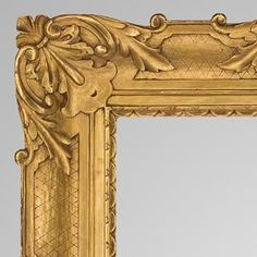 Sweep Frame by Foster Brothers, Carved and Gilt. Find this and other decorative arts at CuratorsEye.com.