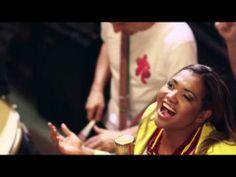 Official song world cup 2014 brazil - Gaby Amarantos e Monobloco - YouTube