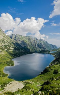 deersandowls:   	The Big Pond High Tatras / Poland by...