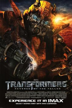"""Transformers:Revenge of the Fallen."" (original poster.) 2009."