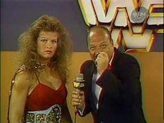 Wendi Richter Promo with Gene Okerlund