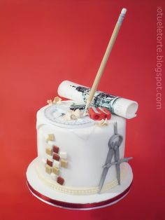 Discover recipes, home ideas, style inspiration and other ideas to try. Cake Icing, Fondant Cakes, Cupcake Cakes, Cupcakes, Cake Disney, Engineering Cake, Architecture Cake, Ballerina Cakes, Cakes For Men